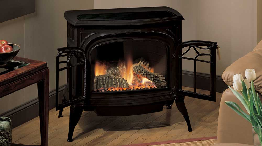 Radiance Vent Free Gas Stove | The Stove Place