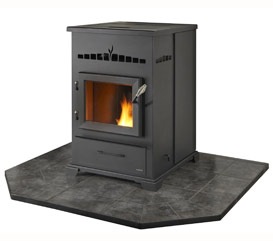 Heatilator Eco Choice Cab50 Pellet Stove The Stove Place